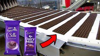 देखिये Factory में कैसे बनाइ जाती है कैडबरी ( Dairy Milk ) | Chocolate Manufacturing Machines