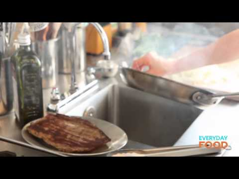 Pan-Seared Steak with Onion and Worcestershire | Everyday Food with Sarah Carey