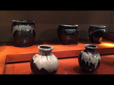 Raku ware, 楽焼, raku-yaki, is aJapanese pottery, Sendai, Japan