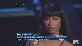 Nicki Minaj Confronts Miley Cyrus Live on Stage at the VMAs | ABC News
