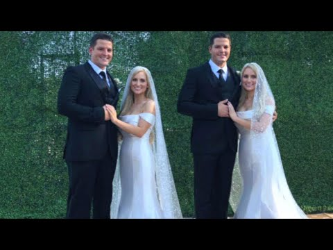 Inside the Wedding of Ohio Twin Sisters Who Married Twin Brothers