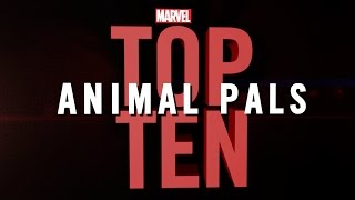 Marvel Top 10 Animal Pals