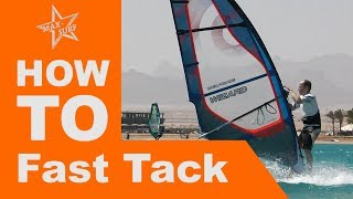 Windsurfing Tutorial How to Fast Tack or Carve Tack