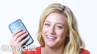 Lili Reinhart Shows Us the Last Thing on Her Phone   Glamour
