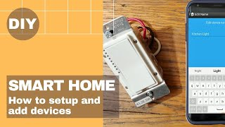 How to add smart home 🏠 devices - Insteon Switch, Plug In Module and Thermostat