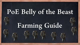 PoE Belly of the Beast Unique Full Wyrmscale Farming, 6 Link Price, Prophecy, Divination Card