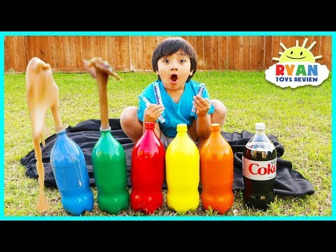 Learn colors for Toddlers and numbers with Coca Cola!