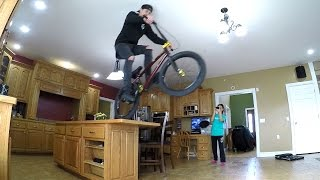 CRAZY INDOOR BMX!!