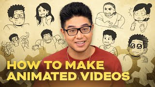 How To Make Animated Videos? - PROCESS #1