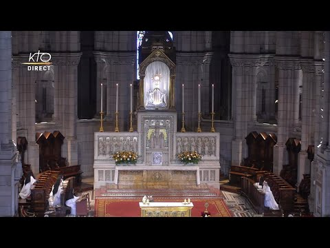 Prière du Milieu du jour du 12 octobre 2021 des Bénédictines du Sacré-Coeur de Montmartre