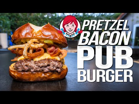 SAM DONE OUT DONE HIMSELF | WENDY'S PRETZEL BACON PUB CHEESEBURGER