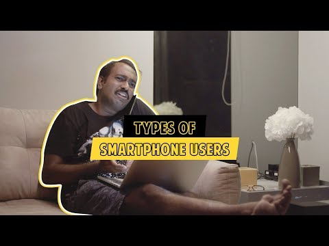 Types of Smartphone users