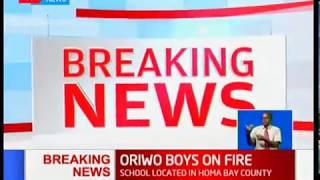 BREAKING NEWS: Oriwo Boys on fire