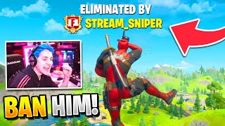 *NEW* Fortnite FUNNIEST Stream Snipers! (BEST MOMENTS)