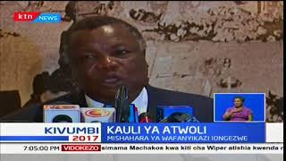 Francis Atwoli asisitiza umuhumu wa kuongezwa kwa mshahara ya wafanyikazi