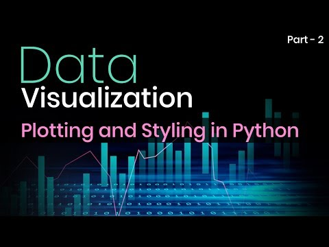 Learn Plotting and Styling in Python | Part 2 | Eduonix