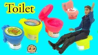 Disney Frozen 's Prince Hans + Queen Elsa - Noise Slime Putty Toy Video