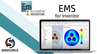 Simulation of a 3 phase cable using AC Electric solver in EMS for Inventor