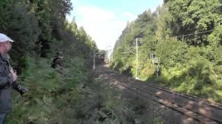 preview picture of video 'Berliner Dampffreunde auf der Tharandter Rampe'