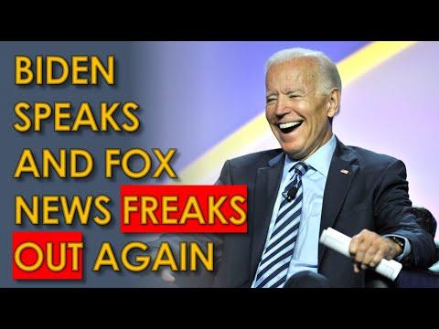 Biden Stimulus Speech causes ANOTHER Fox News MELTDOWN