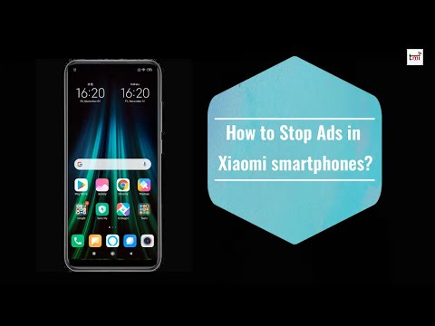 How to stop ads on Xiaomi Mobiles?