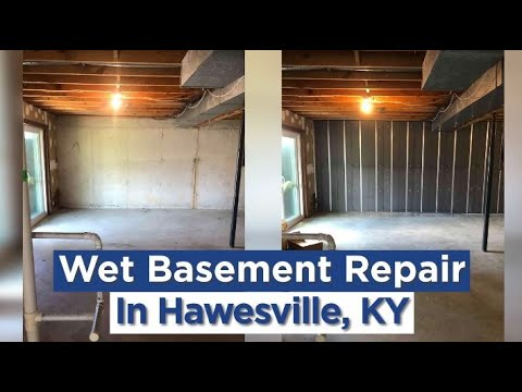 Wet Basement in Hawesville, KY? We Can Help!