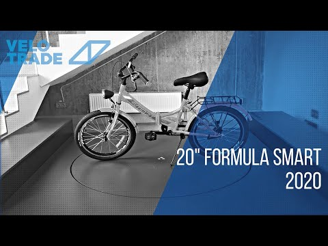 "Велосипед 20"" Formula SMART с фонарём 2020: video"