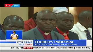 Churches call for the restoration of the position of leader of opposition and Prime Minister