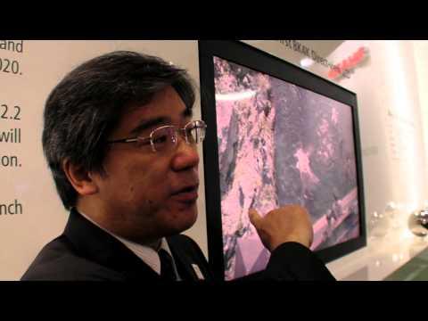 Sharp Demonstrates An 8K4K Display