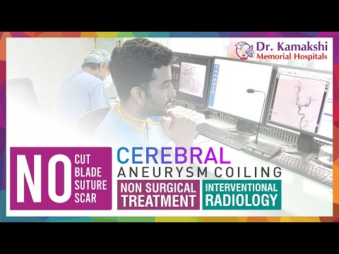 drkmh-Non-Surgical Intervention | GDC Coiling of Cerebral Aneurysm