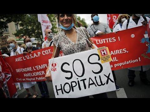 Στους δρόμους οι εργαζόμενοι στα νοσοκομεία