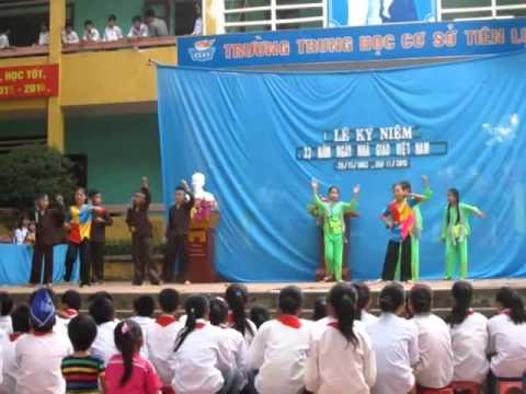 THCS Tiên Lục - Lạng Giang.Bắc Giang.20.11.2015