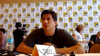 Ken Marino speaks about the TV Serie Childrens Hospital at comic-con