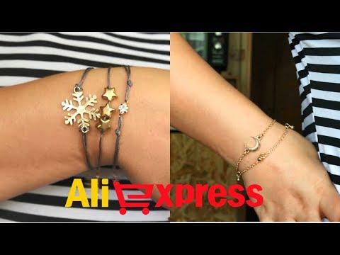 Бижутерия с Али / браслеты на руку / браслеты на ногу