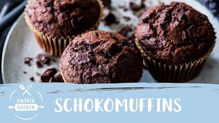 Schokomuffins – Saftig & Schnell | Einfach Backen