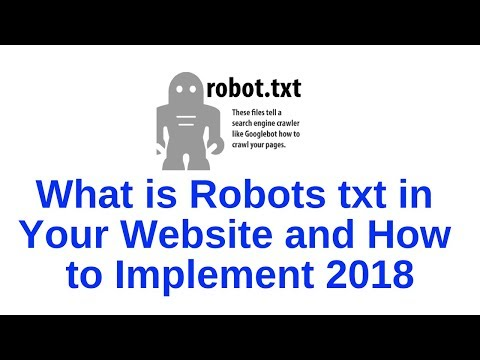 How to Implement Robots txt in Your Website