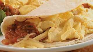 Low-Calorie Breakfast Recipe: Breakfast Taco