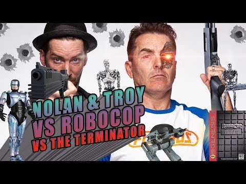 Nolan North and Troy Baker Versus Robocop Versus The Terminator