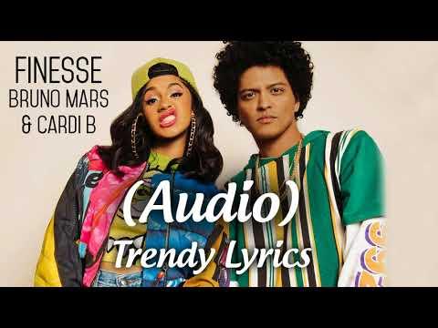 Finesse - Bruno Mars and Cardi B Remix - Audio