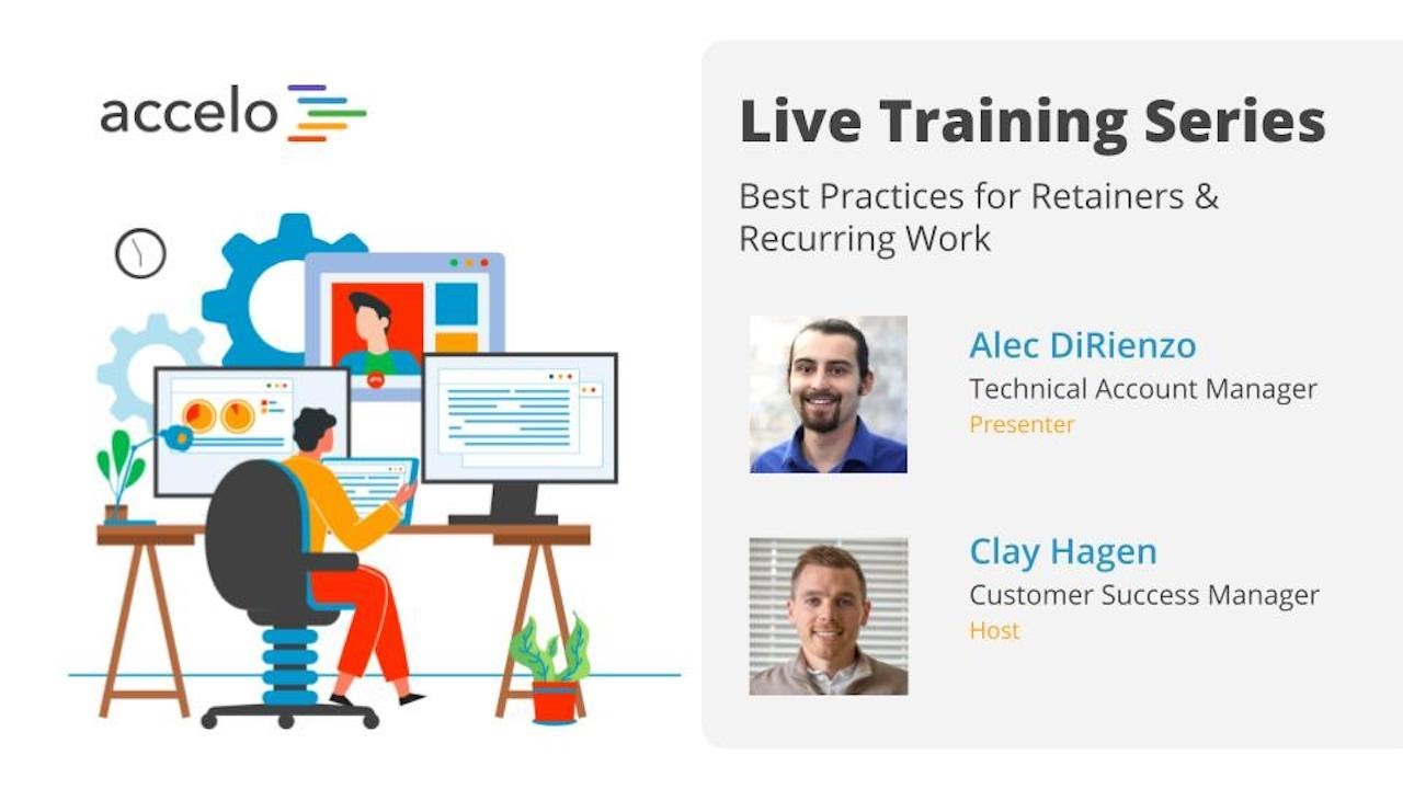 Live Training Series: Best Practices for Retainers & Recurring Work