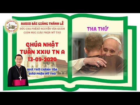 Đức Cha Phêrô suy niệm CN XXIV TN A: THA THỨ