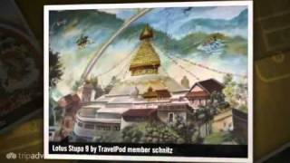 preview picture of video 'Vipassana Meditation Retreat in Myanmar Tradition Schnitz's photos around Lumbini, Nepal'