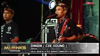 DINGIN - DENAN NEW PALLAPA - MIANKS COMMUNITY WONOKERTO 22 JUNI 2018 PEKALONGAN