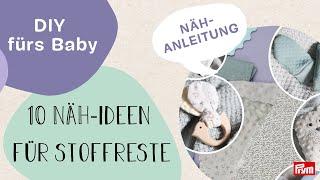 Nastja @DIY Eule x Prym | 10 Ideen: Nähe mit Stoffresten für Baby und Kind