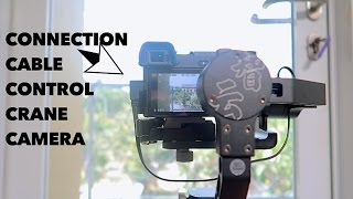 Connection Camera Control CABLE CCCC Zhiyun Crane M Indonesia