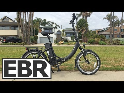Amego Freedom Video Review – $1.3k Step-Thru Folding Electric Bike with Throttle