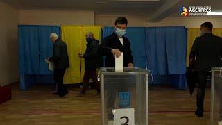 Ucraina: Alegerile locale, o înfrângere pentru preşedintele Zelenski