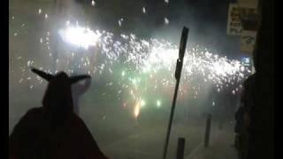 preview picture of video 'Diables de Tona Festa Major 2009'