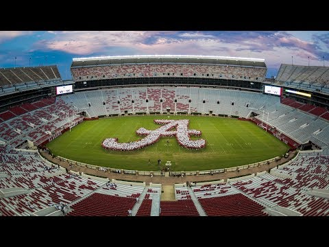 The University of Alabama: Script A Time-lapse (2017)
