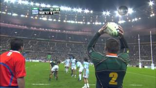 Rugby 2007. Semifinal. South Africa v Argentina